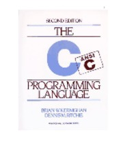 The_C_Programming_Language_Ritchie_kernighan