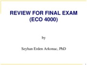 Final Review Prof. Arkonac's Slides (Ch 1 - Ch 9)