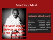 Meet Your Meat Lecture