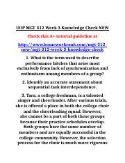 UOP MGT 312 Week 3 Knowledge Check NEW.doc