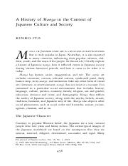A history of Manga in the context of Japanese culture.pdf