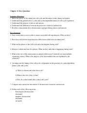 Chapter 13 KeyQuestionsS17
