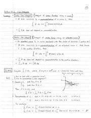linear algebra handwritten notes