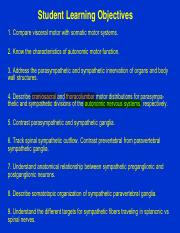 2. Autonomic Motor Components lecture 1_revised