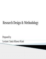 Research-designs