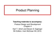 Ch4 Product_Planning
