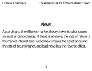 Class 24 The_Weakness_of_the_Efficient-Market_Theory