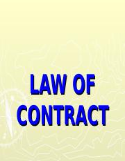 Lecture 2  - 4 Law of Contract .ppt
