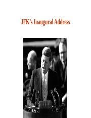 L4-Kennedy inaugural address.ppt