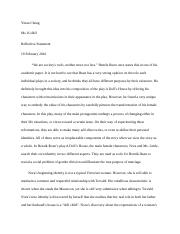 A Doll's house essay.docx