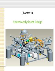 chapter10 System Analysis and Design