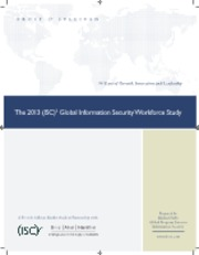 2013-ISC2-Global-Information-Security-Workforce-Study
