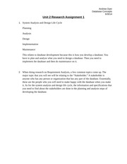 unit 1 research assignment 1 exploring Unit 1: week 1 of exploring  write this into the relevant sections of the report template attached to your assignment in  in teams, research and create a.