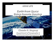 010411 - Earth From Space Using Remote Sensing