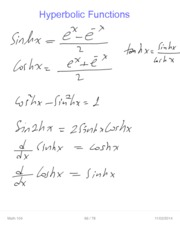 Math 104 Ch8 Integration by parts