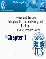 CHApter  1  Introducing Money and Banking.ppt