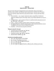 Kapitel 8A Quiz Review