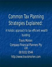 taxplanning.ppt