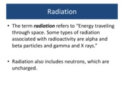 Radiation+Lecture