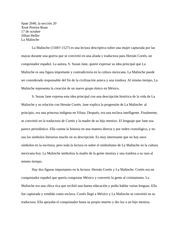 La Malinche Analysis word doc
