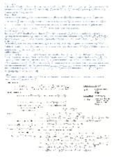Test 1 Formula Sheet