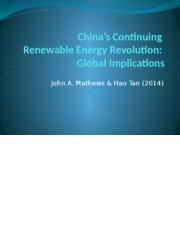 Global East Asia - China's Continuing Renewable Energy Revolution.pptx