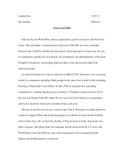 what were the underlying causes of world war 1 thesis