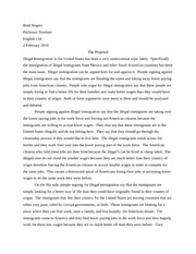 English 134 Arguement Proposal