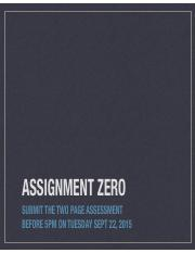 Assignment_Zero_Slides.pdf