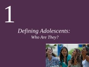 CH1 Defining Adolescents