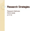 Research Strategies 2.17