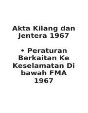 Akta Kilang Dan Jentera 1967 Pustaka Mukmin Kl Malaysia S Online Bookstore