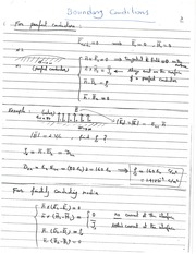 Supp_notes_11_Summary of Boundary Conditions