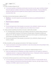 Chapter 3 Study Guide on Procedures and Considerations