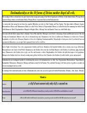 37715567-Dasa-Mahavidyas-Sri-Vidya pdf - Dashmahavidya or