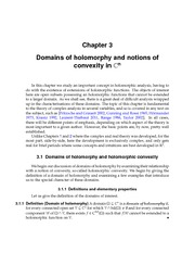 Domains of holomorphy and notions of convexity in C n