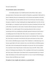 topic topic connecting customers part how and how 6 pages personal leadership essay