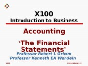L12 Accounting Financial Statements