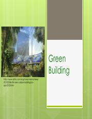 9 Green building