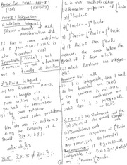 March 13 Lecture Note
