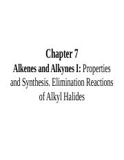 Chapter 7- Alkenes and Alkynes I.ppt