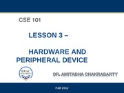 3.Hardware and Peripheral devices