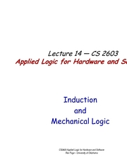 Lecture14MechanicalLogic