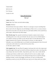 Oral Presentation- Music 1 (Recovered).docx
