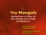 Mongols Supplemental Material