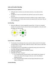 Chem 1301- Ionic and Covalent Bonding.docx