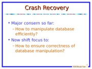 lecture8-Crash+Recovery