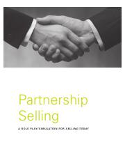 Partnership Selling Assignment 3.pdf
