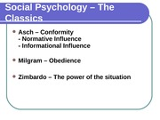 Chapter 15 - Social Psychology