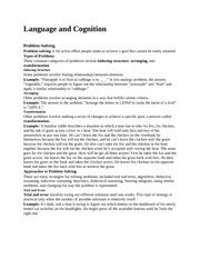 Language and Cognitio7